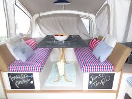 Replacement Pop Up Camper Curtains How To Renovate A Pop Up Trailer For Under 100