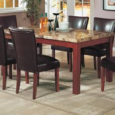 coaster table and chairs challenge marble kitchen table coaster telegraph top dining 120311