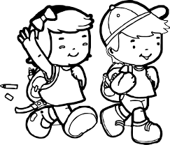 african american kids coloring page wecoloringpage