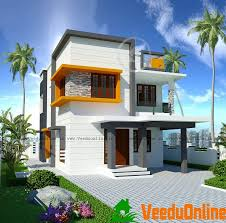 1877 Sq Ft Double Floor Contemporary Home Design