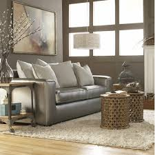 Silver Leather Sofa by Metallic Leather Furniture As Your Go To Accent Feature Sophia