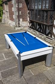 fusion pool dining table 7ft fusion outdoor pool table in white standard black cloth