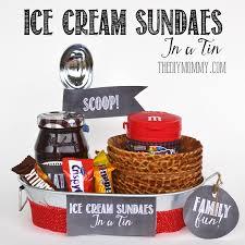 a gift in a tin ice cream sundaes in a tin the diy mommy