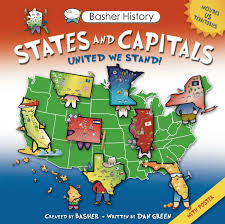 Map Of States With Capitals by Basher History States And Capitals United We Stand Simon Basher