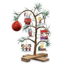 amazon com tabletop tree peanuts classic holiday memories