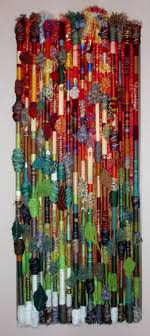 Textile Arts Now Tutorial 02 Fiber Wall Hanging Fall In The Northland Made By Polly