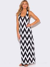 chevron maxi dress plus size chevron print racer back maxi dress modish