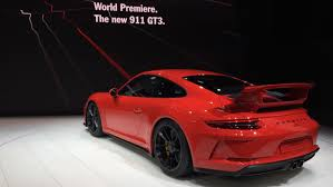 new porsche 911 gt3 porsche with world premieres in geneva