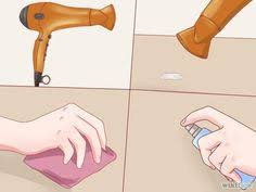 how to get wax any surface baseboard paper towels and wax