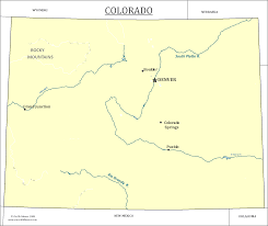 Colorado Map Of Cities by Colorado State Map Map Of Colorado And Information About The State