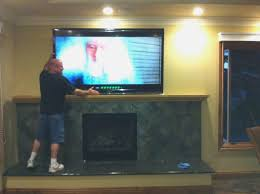 best mounting tv above fireplace decorate ideas best under design