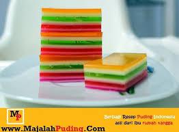 cara membuat puding enak dan murah cara membuat puding rainbow resep puding