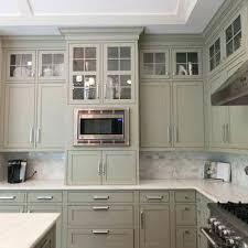 grey and green kitchen light grey green kitchen cabinets painted gray color ideas