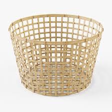 Laundry Hamper Ikea by Wicker Basket Ikea Gaddis Diameter 50 By Markelos 3docean