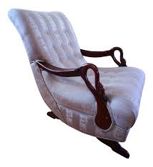 Modern Rocking Chair Png Antique 1930 U0027s Swan Arm Gooseneck Rocking Chair Chairish