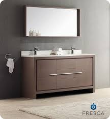 the bathroom 60 inch white vanity on with astoria in double sink