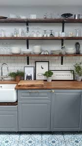 why the little white ikea kitchen is so popular how to fit a belfast sink on an ikea kitchen cabinet simply the nest