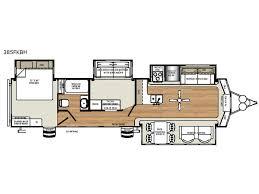 Destination Trailer Floor Plans | new forest river rv sandpiper destination trailers 385fkbh