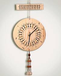 Warli Art Simple Designs A Warli Clock Warli Art Pinterest Clocks Paintings And