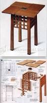 side table plans 266 best craftsman style tables images on pinterest tables diy