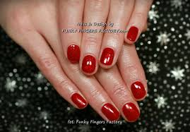 gelish glitter nails funky fingers factory part 3