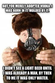 Bane Meme Internet - livememe com russian bane