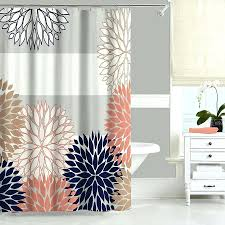 Teal And Brown Shower Curtain Grey And Pink Shower Curtain U2013 Bonniesfollowanewadministration Com