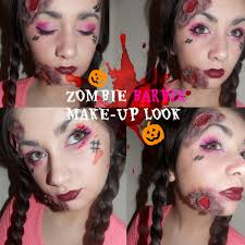 barbie halloween makeup zombie barbie makeup tutorial images