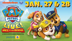paw patrol live race rescue cincinnati arts