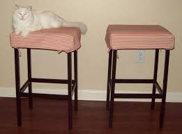 Bar Stool Seat Covers Square Bar Stool Cushions Tufted With Cushion By Homepop How To