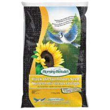 morning melodies black oil sunflower seed 11 36 kg canadian tire