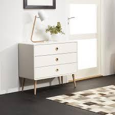 White Bedroom Chest - bernhardt damonica white oak steel oak chest