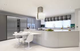 grey painted kitchen cupboards brown wooden kitchen cabinet white