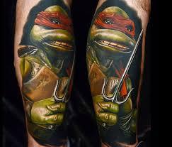 tattoo of teenage mutant ninja turtles by nikko hurtado no 153