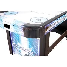 harvil 5 foot air hockey table with electronic scoring harvil face off 5 ft air hockey table ng1009h inyopools com