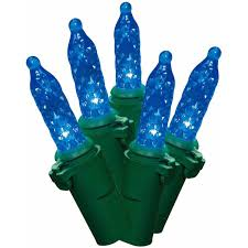 holiday time led lite lock m5 christmas lights blue 225 count