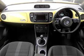 find a used yellow vw beetle cabriolet sport 2 0 tdi 140 ps