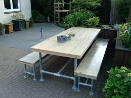 industrial farmhouse products outdoor modern style ipe picnic