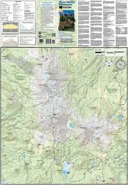 Washington Trail Maps by Three Sisters Wilderness Trail Map Adventure Maps