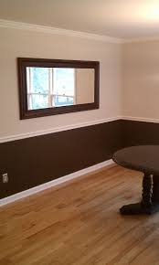 ideas about two toned walls chair rail also painted rooms with