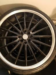 lexus gs300 rims and tires set of 4 20 inch icw racing rims whit tires universal 4 lugs for