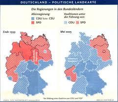 bundesländer nach fläche bundesrat stimmengewichtung brd bundesrepublik deutschland