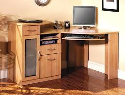 Small Computer Printer Table Desk Compact Computer Desk With Printer Shelf Computer Desk With