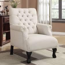 linen club chair shop coaster furniture casual oatmeal linen club chair at