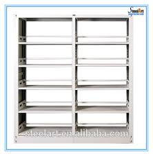 Bookshelf Price Cheap Double Sided Library Steel Bookshelf Price Buy