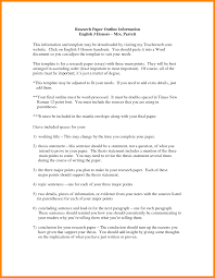 8 research paper outline example nurse resumed