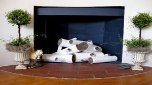 fake fireplace logs battery operated home design inspirations