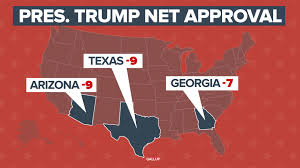 2000 Presidential Election Map by Trump U0027s Base Sticks With Him U2014 Except In The South Nbc News