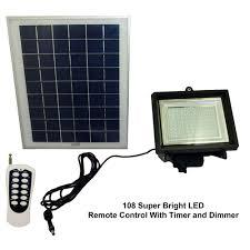 led solar security light solar flood light