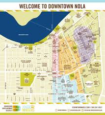 Map Of New Orleans Metro Area by Downtown Map U2013 Downtown New Orleans